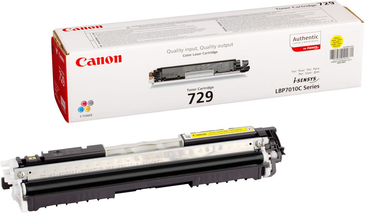 CANON 4367B002 CRG-729Y SARI TONER