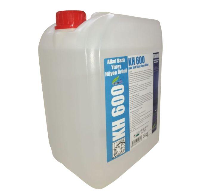 Chemist KH 600 Alkol Bazlı Yüzey Temizleme Dezenfektan Maddesi 5 Kg