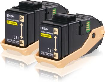 EPSON C13S050606 IKILI YELLOW TONER-AL-C9300DN, AL-C9300DTN, A