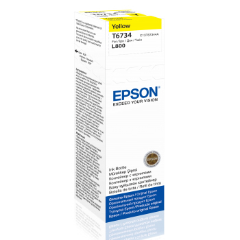 EPSON C13T67344A KARTUS-YELLOW-70ml/L800/L1800