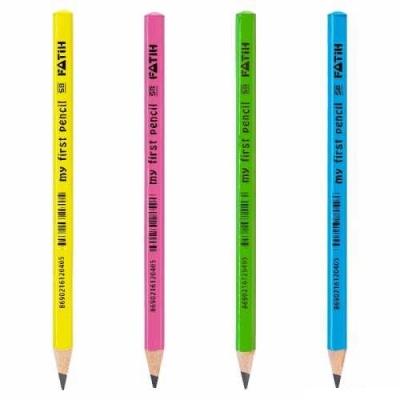 Fatih Jumbo Üçgen Başlangıç Kurşun Kalemi Renkli - Thumbnail