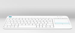 LOGITECH K400 PLUS WHITE KEYBOARD 920-007150 - Thumbnail