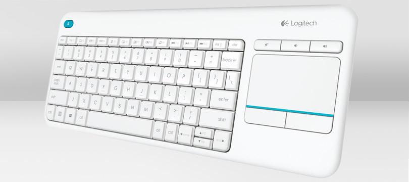 LOGITECH K400 PLUS WHITE KEYBOARD 920-007150