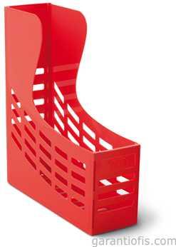 Mas 842 Vivid Kırmızı Plastik Kutu Klasör (Magazinlik)