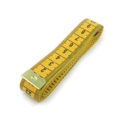 Nıssın Alman Malı İnçli Sarı Mezura (150 cm) - Thumbnail