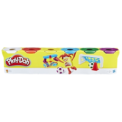 Play-Doh 6 Renk Oyun Hamuru - Thumbnail