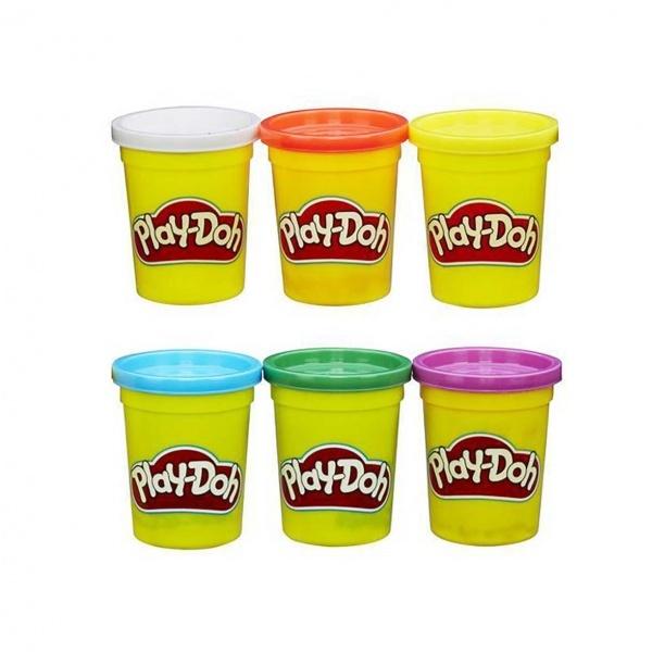 Play-Doh 6 Renk Oyun Hamuru