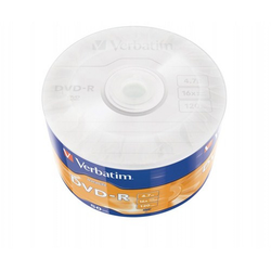 Verbatim DVD-R Wrap Matt Silver 4.7 GB (50 lu Paket) - Thumbnail