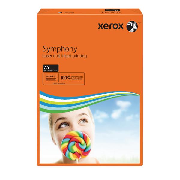 Xerox A4 Symphony Turuncu Renkli Fotokopi Kağıdı (003R9397)
